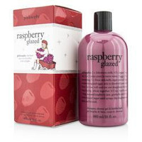 Raspberry Glazed Shampoo, Shower Gel & Bubble Bath --480ml-16oz