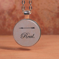 Katniss Hunger Games Real Arrow Pendant Necklace
