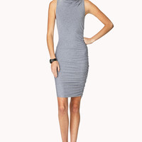 Daring Ruched Bodycon Dress