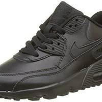 Nike Big Kids Air Max 90 Leather Running Shoes-1