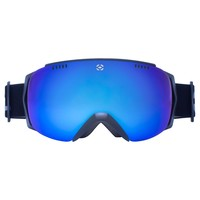 Winterial Frameless Ski & Snowboard Goggles with Case