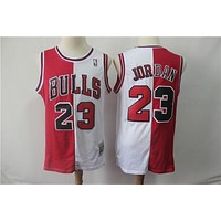Chicago Bulls 23 Jordan Double Color Basketball Jersey