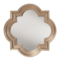 The Gatsby Wall Mirror With Platinum Gold Frame   Overstock.com Shopping - The Best Deals on Mirrors