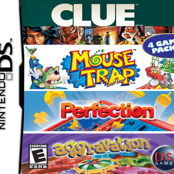 Clue/Mouse Trap/Perfection/Aggravation - Nintendo DS (Game Only)
