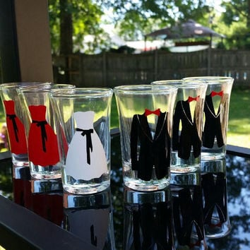 Wedding Shot Glasses