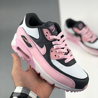 Nike Air Max 90 Essential vintage casual air cushion color block sneakers Shoes