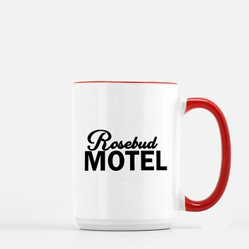 Rosebud Motel Schitts Creek Inspired Coffee Mug