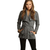 Gray Going Out Jacket