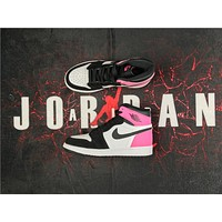 "Air Jordan 1 OG High GS ""Valentines Day"" Basketball Shoes US 5.5-8.5"