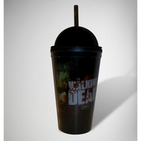 The Walking Dead Zombie Cup with Straw