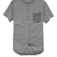 Gingham Plaid Pocket Shirt