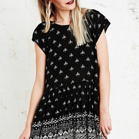 Minkpink Native Nights Dress in Black - Urban Outfitters