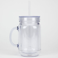 Mason Jar Tumbler Clear One Size For Men 22819990001