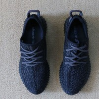 Free Shipping YEEZY BOOST 350 AQ2659 PIRATE BLACK US Size 10 for Men