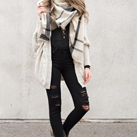 Love Notes Cardigan (Taupe)