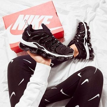 Nike Air Max Vapormax Plus TN vascular atmosphere cushion running shoes fashion men and women casual sports shoes