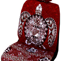 Red Sea TurtleHawaiian Separate Headrest Cover
