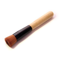 2016 New Arrival Wooden handle Makeup Brushes Powder Concealer Blush Liquid Foundation Make up Brush
