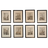 Column and Obelisk Etchings at 1stdibs