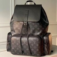 Louis Vuitton LV fashion men and women large-capacity backpack travel bag