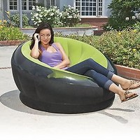 Intex Empire Inflatable Chair, Green Perfect for living rooms, college dorms