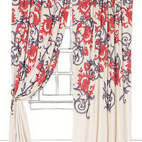 Anthropologie - Stitched Mansoa Curtain