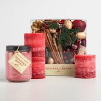 Sugared Berry Candle Collection