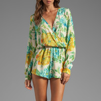 Blu Moon Boho Romper in Magnolia from REVOLVEclothing.com