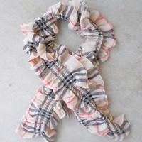 Plaid North Forest Scarf