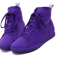 2016 Fashion Neon Color Women Casual Shoes Lace Up Flat Heel Zapatos Mujer Ladies Shoes