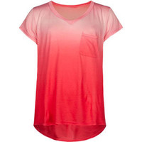 FULL TILT Ombre Girls Pocket Tee
