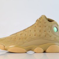 BC KUYOU Nike Air Jordan Retro 13 Wheat Elemental Gold Baroque Brown Gum 414571-705 (NO Codes)