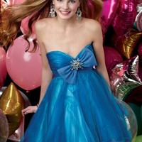 Buy Beautiful Bowknot A-line Sweetheart Homecoming/Cocktail Dress with 99.99-SinoAnt.com