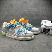 """OW x Dunk Low""""21 of 50"""" OW DM1602-115  36-46"""