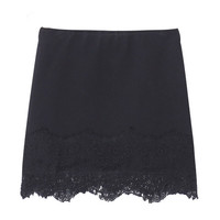 TK Style Lace Combined Skirt