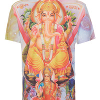 Ganesh Front Print T-Shirt - Men's T-Shirts & Vests - Clothing - TOPMAN