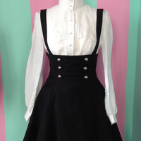 Gothic Lolita pinafore dress