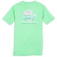 Ladies The Sea Will Set You Free Tee in Starboard by Southern Tide