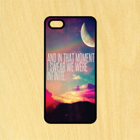 We Were Infinite Love Quote Phone Case iPhone 4 / 4s / 5 / 5s / 5c /6 / 6s /6+ Apple Samsung Galaxy S3 / S4 / S5 / S6