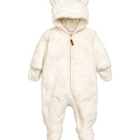 Pile Snuggle Suit - from H&M