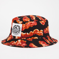 Milkcrate Athletics Bacon Double Mens Bucket Hat Black Combo One Size For Men 24801914901