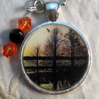 Trees in Motion Pendant