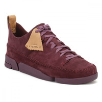 Clarks Womens Purple Trigenic Flex Trainers