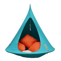 Single Hanging Chair Turquoise