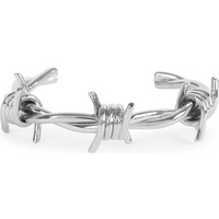 GIVENCHY Crown silver-plated brass cuff