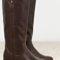 AEO Women's Pull On Riding Boot (Brown)
