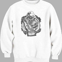 Marilyn Monroe Gangsta Pose Sweater for Mens Sweater and Womens Sweater ***