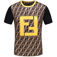 Fendi Fashion Casual Print Shirt Top Tee