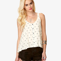 Woven Southwestern Print Top | FOREVER21 - 2050153055