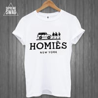 Mens swag hipster t-shirt new FRESH Ballin Homies OFWGKTA dope new york